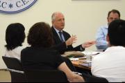 Rotary Peace Fellows visit ECCC