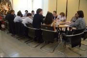 Des étudiants en droit néerlandais visitent les CETC