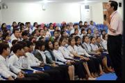 300 students from Kampong Thom visited the ECCC