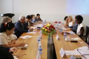 French Secretary of State in charge of Foreign Affairs and Human Right visit to the ECCC