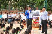 Lecture at Chea Sim Samaki High School