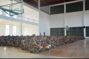 Lecture at the Infantry Unit in Kampong Speu