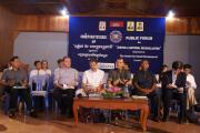 Public forum in Mondulkiri
