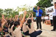 Lecture at Chea Sim Samaki High School (3)
