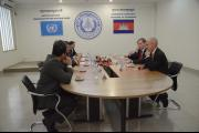 Mr. Jeremy Browne MP, Minister of State, visits the ECCC