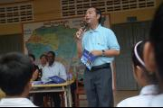 Outreach at Anlong Veng High School