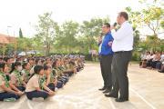 Lecture at Chea Sim Samaki High School (4)