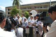 Distribution of Appeal Judgement to S-21 survivors and Civil Parties