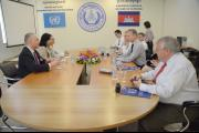 Delegation from US congress visits the ECCC