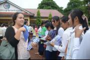 Outreach at Anlong Veng High School
