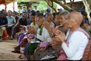 Public forum in Anlong Veng