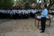 Booklet distribution in Kampong Cham (6)