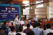 Public forum in Kratie