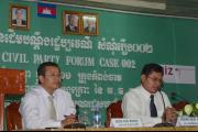 VSS Civil Party Forum in Kampong Cham 15 Sep 2011