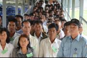 Audience devant la Chambre de la Cour suprême consacrée à l'appel sur les conditions assortissant la libération de Ieng Thirith