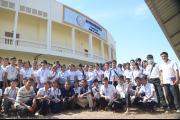 Student visit from Hun Sen Kampong Por Pil High School