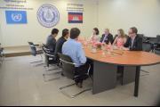 Australian MP Mr. Simon Crean visits the ECCC