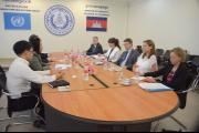 Delegation from Swedish MInistry of Foreign Affairs visits ECCC
