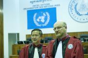 The Co-Investigating Judges You Bunleng and Michael Bohlander