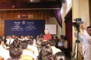 Public forum in Kampot