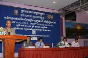 Forum at Kampot Governor of Kampot address to the CPs 17-01-2011